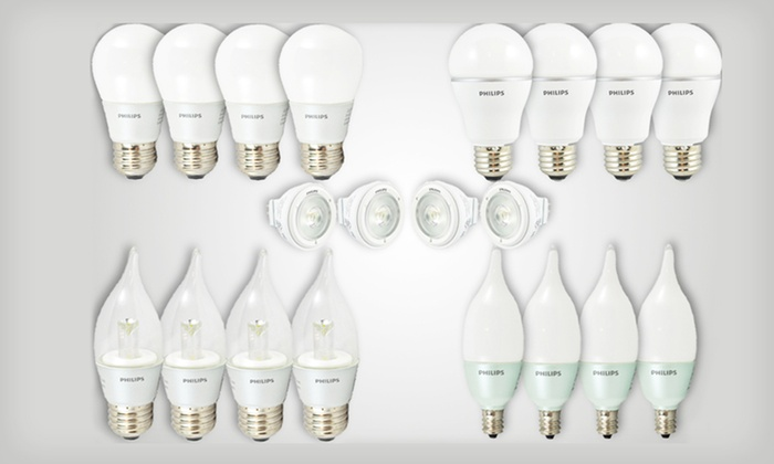 Philips LED 4 Pack Lightbulb Set: Four-Pack of Philips Light Bulbs (Up to 77% Off). Five Options Available. Free Shipping and Free Returns.