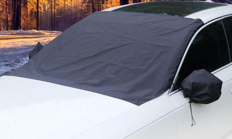 Fundas ajustables para los espejos, parabrisas delantero y trasero del coche