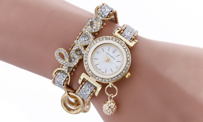 One or Two Fashion Wrap Love Watches