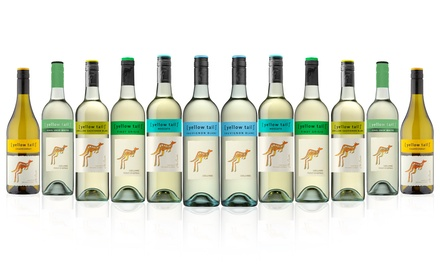 $86 for 12-Bottle Yellow Tail Mixed White Wine Case (Don't Pay $139)