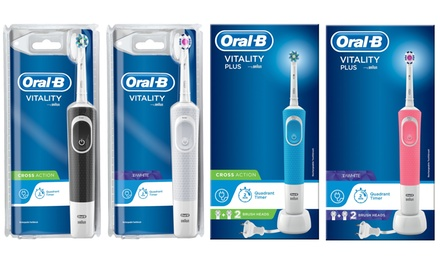 Oral B Vitality or Vitality Plus Electric Toothbrushes with Optional Shaver Plug
