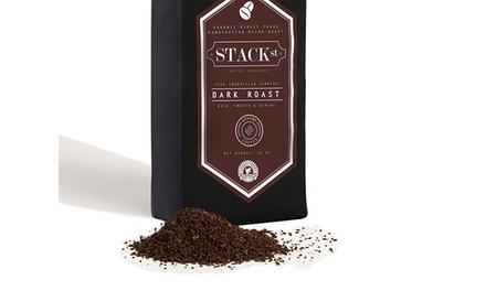 Stack St. Dark Roast Organic Ground Coffee (12 Oz.)