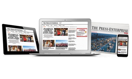 One- or Two-Year Subscription for Sunday Delivery to The Press-Enterprise (90% Off)