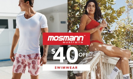Mosmann: $5 for $40 to Spend Online on Selected Swimwear and Shorts (prices start from $49.95)