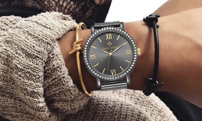 Reloj Timothy Stone con Swarovski® | Groupon