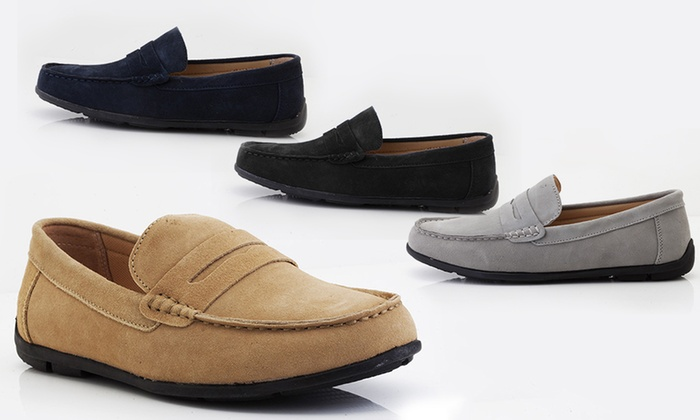 Mocassins pour homme 100% cuir   Groupon Shopping 2e6bdb3be003