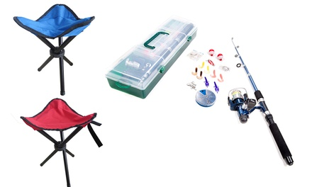 Jocca Fishing Set with Chair in Choice of Colour