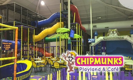 Chipmunks Whitfords Entry: Wkdy - 1 ($8), 2 ($16) or 4 Kids ($32), or Wknd - 1 ($10), 2 ($20), 3 ($30) or 4 Kids ($40)