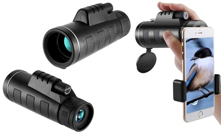 One or Two LongRange Monocular Telescopes with Accessories