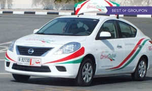 Drive Dubai: 10 Hours Light Motor Vehicle Practical Driving Towards 15 or 20 Hours Course at Drive Dubai (60% off)