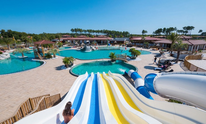 Landes: Up to 7 nights for Two to Five People with Water Activities at Au Lac de Biscarrosse Yellow Village Camping