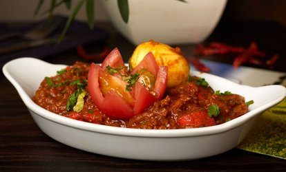 Two-Course Meal With Rice or Naan For Two or Four from £15 at Mustard
