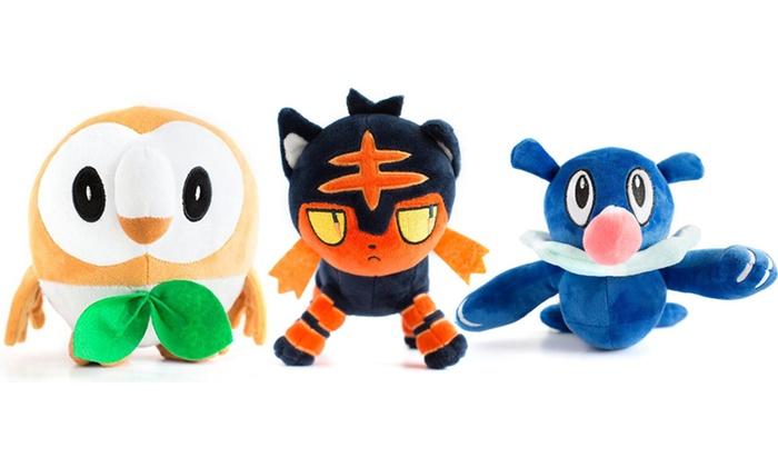 Second Sensation Boutique - In-Store Pickup: Pokémon Sun and Moon Plush Toy  Set