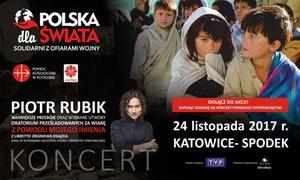 """ATMA: Od 35 zł: bilet na koncert """"Polska dla Świata'' – Piotr Rubik Największe Przeboje w Katowickim Spodku"""