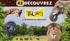 Parc zoologique de Thoiry - Thoiry: Billet entrée unique adulte ou enfantau parc zoologique de Thoiry avec accès au safari, château et jardins à 14,50 €
