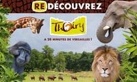 Billet entrée unique adulte ou enfantau parc zoologique de Thoiry avec accès au safari, château et jardins à 14,50 €