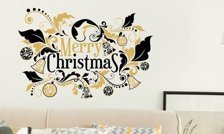 Walplus Christmas SelfAdhesive Wall Stickers