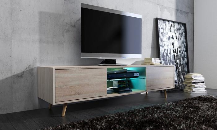 Wonderbaarlijk Modern TV-meubel in Scandinavische stijl | Groupon Goods EK-51