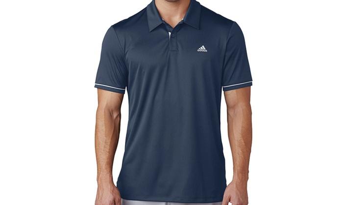f74d5b6a Adidas Golf Advantage Men's Polo Shirt   Groupon