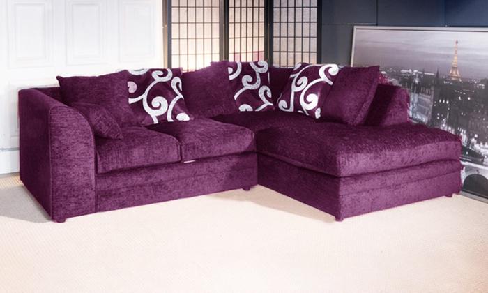 Zina Sofa Collection Groupon
