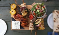Summer Barbecue Platter for Two or Four at Florins Bar