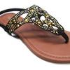 Olivia Miller Women's 'Asti' Multi Heat Sealed Cut Out Buckle Sandals