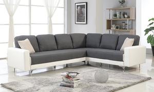 Canapé d'angle Edwige