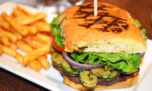 Ember's Wood Fire Grill & Bar San Antonio: Pizza, Burgers, and Ribs at Ember's Wood Fire Grill & Bar San Antonio (Up to 50% Off). Four Options Available.