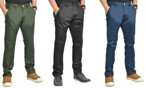 Men's Straight Leg Chinos