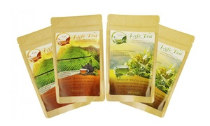 LyfeTea Morning and Detox Tea28-DayLoose-LeafTeatox(4-Pack)