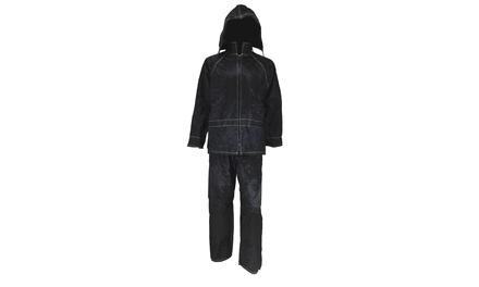 Completo tuta impermeabile anti pioggia con giacca e pantalone disponibile in varie taglie