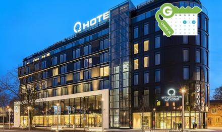 Kraków: pobyt dla 2 osób ze śniadaniami i dostępem do centrum fitness w Q Hotel Plus Kraków 4*