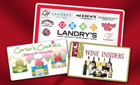 GROUPON: Gift Cards to Landry's ... Landry's and Corso's Cookies or Landry's and Wine Insiders (depending on option purchased)