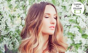 Stúdio e Esmalteria Excellence: Ombré hair, californianas ou luzes (opção com matização, hidratação e mais) no Stúdio e Esmalteria Excellence - Contagem