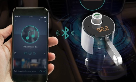 Hands-Free Bluetooth Car FM Transmitter