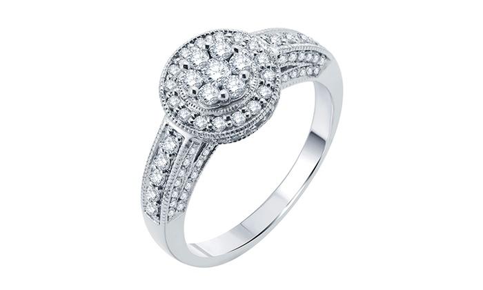 3/4 CTTW Diamond Ring in 14K Gold: 3/4 CTTW Diamond Ring in 14K Gold