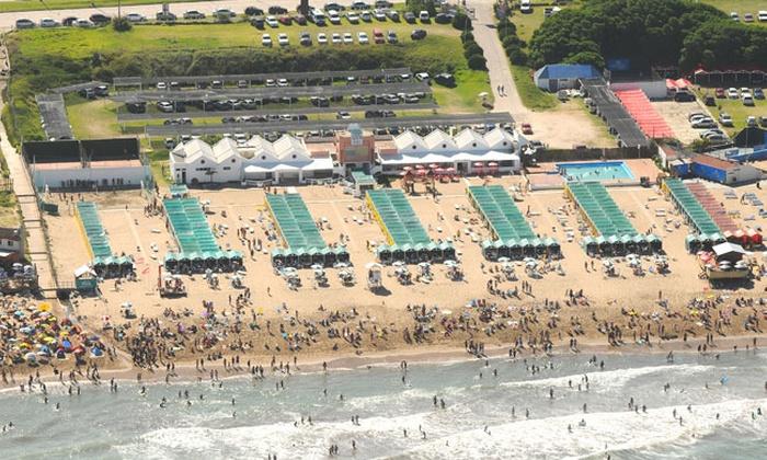 Balneario South Beach - Balneario South Beach: Desde $1139 por 2, 3, 4 o 7 días de alquiler de carpa para seis en Balneario South Beach