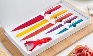 Lot de couteaux avec éplucheur Innovagoods