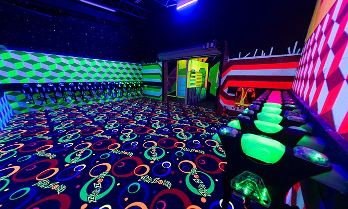 Zap Zone - Ann Arbor: $13 for Laser Tag for Two with Glo Items at Zap Zone (Up to $26 Value)
