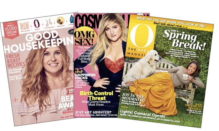 67 Off Two One Year Magazine Subscriptions