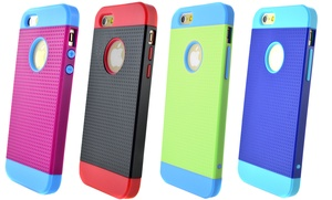 Hybrid Mesh Case for iPhone 4/4s, 5/5s/SE, 5c, 6, 6 Plus, or Galaxy S5