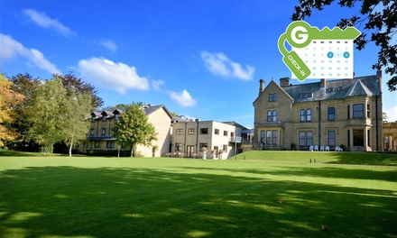 Lancashire: Double Room for Two with Breakfast and Leisure Access at Best Western Oaks Hotel