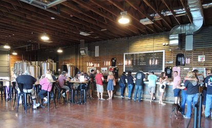 image for Brewery Experience for One, Two, or Four at Jamesport Farm Brewery (Up to 43% Off)