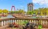 Natuur in Rotterdam: tweepersoonskamer incl. ontbijt en parking