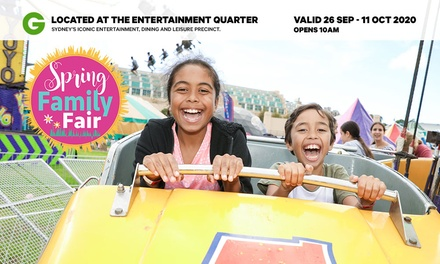 Spring Family Fair: Two Hours of Unlimited Rides for One ($15) (Up to $25 Value)