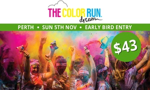 THE COLOR RUN: The Color Run™ Dream Tour - Early Bird Entry for $43 (Plus Booking Fee), 5 November, Langley Park