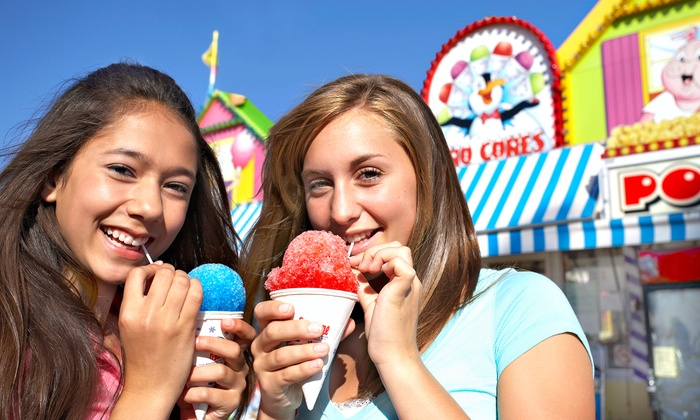 Midway of Fun - Tres Pinos: $15 for Carnival Rides from Midway of Fun at San Benito County Fair(Up to $30 Value)