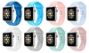 Silicone Sport Replacement Band for Apple Watch Series 1-5