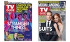 93% Off Subscription to TV Guide Magazine