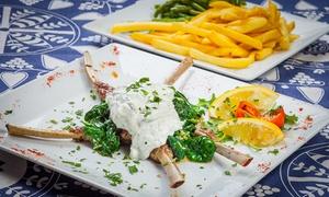 Restauracja Grecka Santorini: Całe menu: 39,99 zł za groupon wart 60 zł i więcej opcji w Restauracji Greckiej Santorini (do -36%)